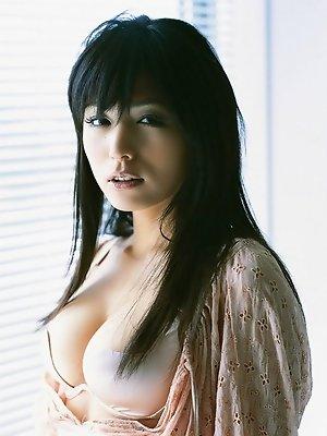 In her bikini this...