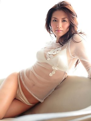 Beautiful gravure idol with...