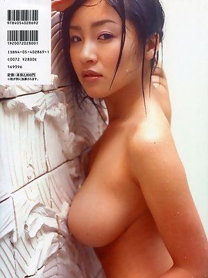 Curvey gravure idol with...